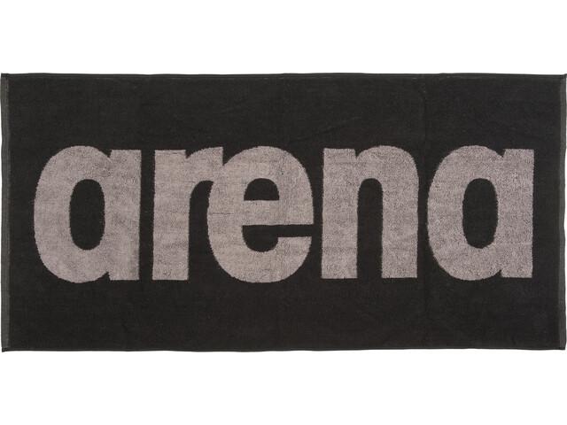 arena Gym Soft Towel black-grey